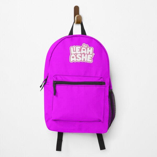 Leah PERSONALISED Bag Ashe Youtuber American Gaming Gamer Vlogger Kids Bagpack