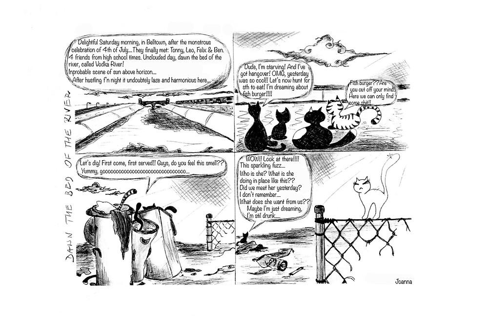 Rag Tag comic by Wybranska