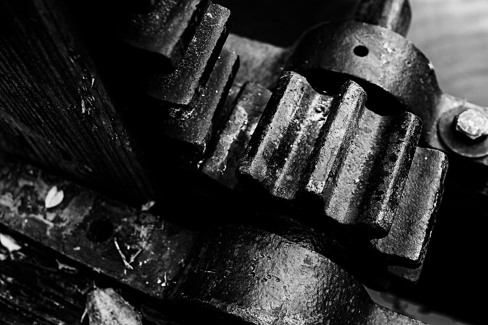 Gears by Michael Wolf
