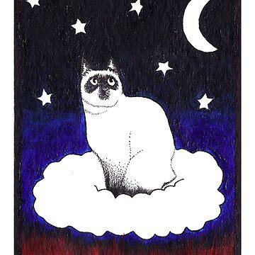 Cosmic Kitty by caromazing
