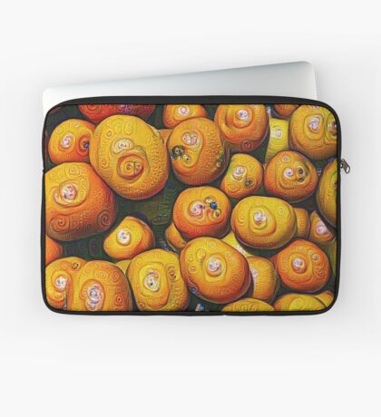#DeepDream Fruits 5x5K v1454417933 Laptop Sleeve