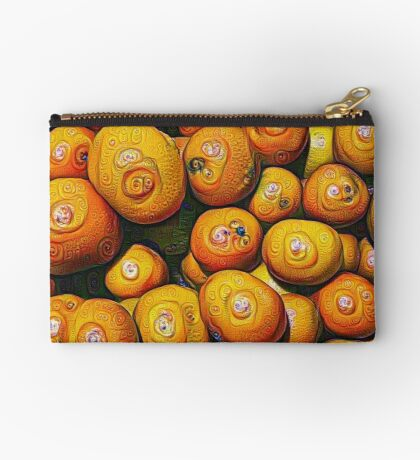 #DeepDream Fruits 5x5K v1454417933 Zipper Pouch