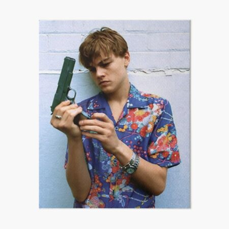 Leonardo DiCaprio jeune Roméo et Juliette Impression rigide