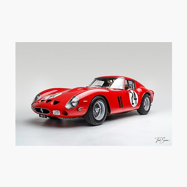 Ferrari 250 GTO de 1963 Impression photo