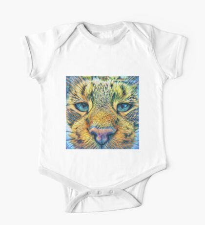 #DeepDreamed Cat v1449127170 Kids Clothes