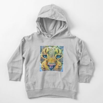 #DeepDreamed Cat v1449127170 Toddler Pullover Hoodie