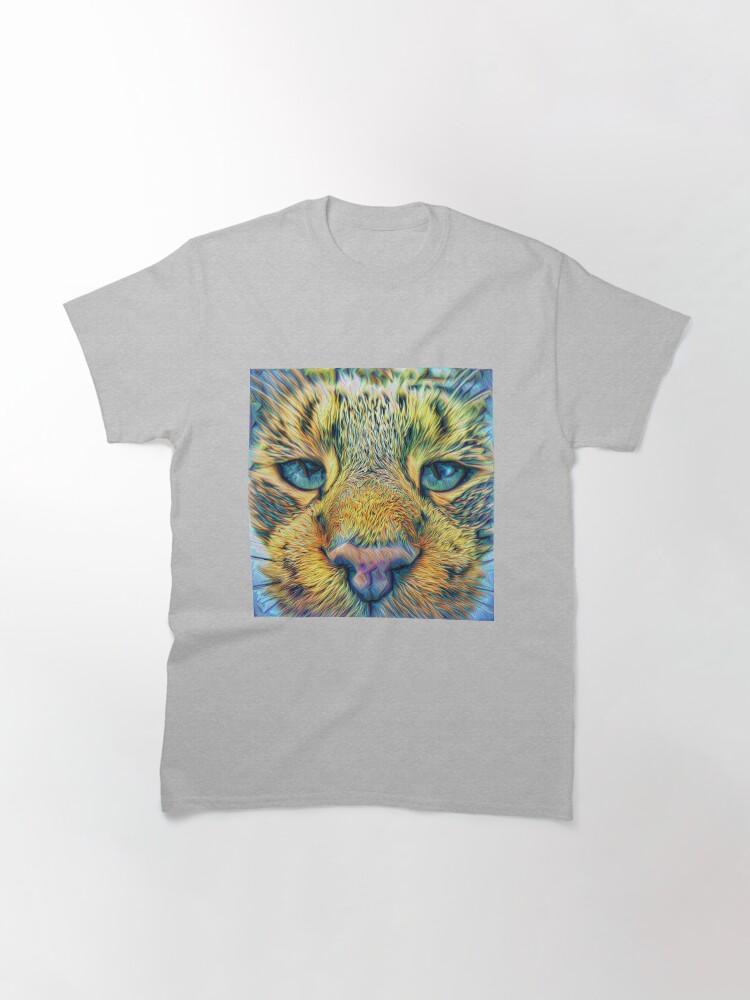 Alternate view of #DeepDreamed Cat Classic T-Shirt