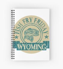 WYOMING FISH FRY Spiral Notebook