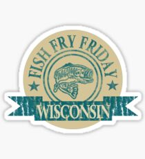WISCONSIN FISH FRY Sticker