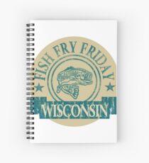 WISCONSIN FISH FRY Spiral Notebook