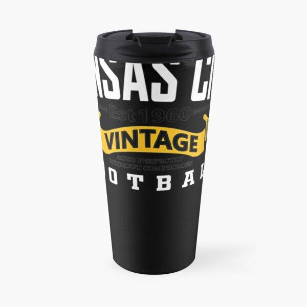 Kansas-City-Varsity-Style-Retro-Football-Since-1960 Travel Mug
