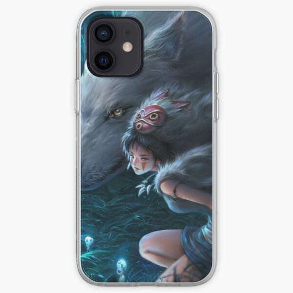 Princesse Mononoke Coque souple iPhone