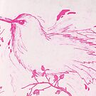 Pink Bird by Wybranska