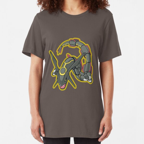 Shiny Rayquaza Slim Fit T-Shirt