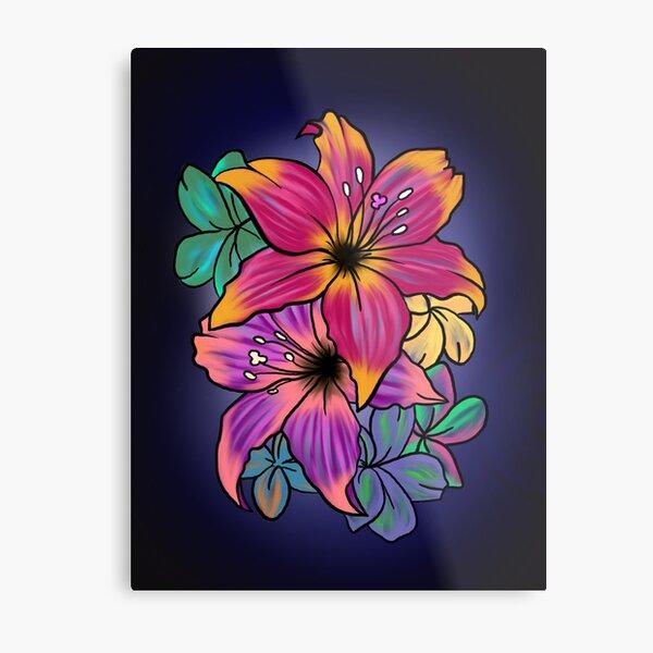 Sweet Lilies  Metal Print