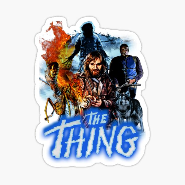 John Carpenters The Thing Stickers Redbubble