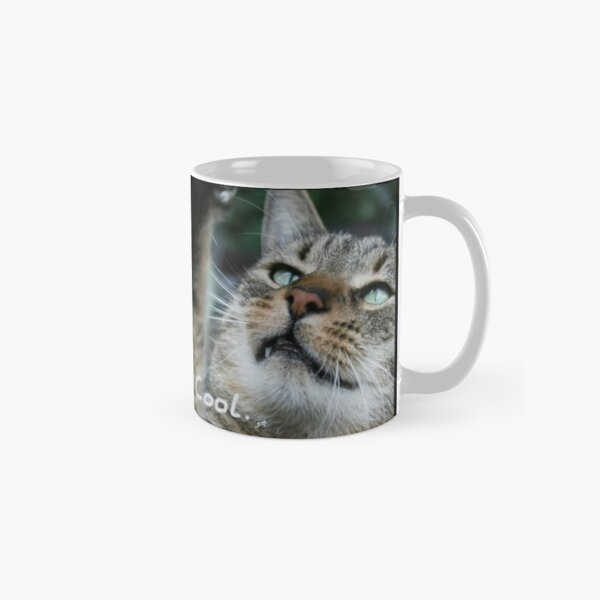 Cat photo: Cool, says the cat. Special version Classic Mug