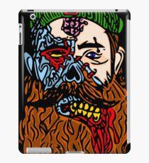 HipsterZombieBeardguy iPad Case/Skin
