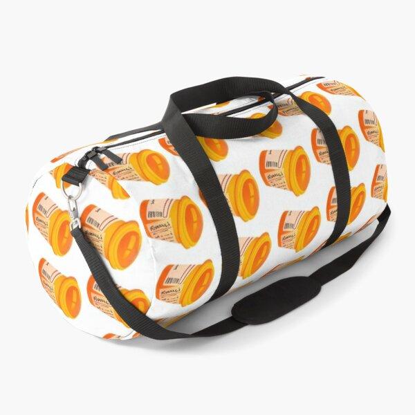 Pill bottle pattern  Duffle Bag