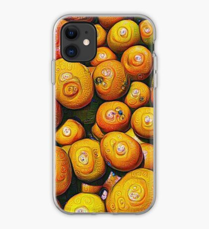 #DeepDream Fruits 5x5K v1454417933 iPhone Case