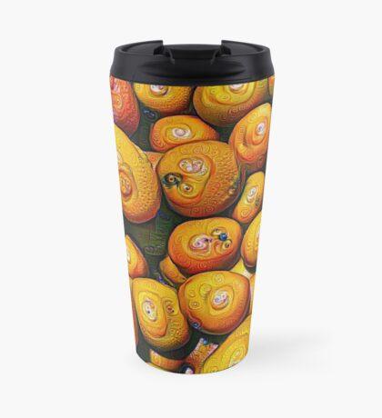 #DeepDream Fruits 5x5K v1454417933 Travel Mug