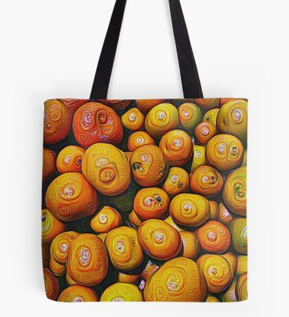#DeepDream Fruits 5x5K v1454417933 Tote Bag
