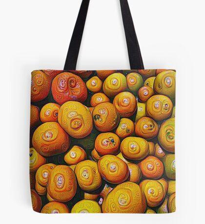 #DeepDream Fruits 5x5K v1454417933 Tote Bag