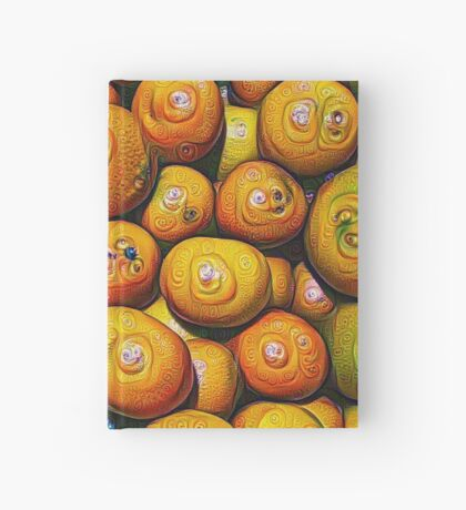#DeepDream Fruits 5x5K v1454417933 Hardcover Journal