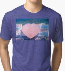 Hearts On Fire 5849 Tri-blend T-Shirt