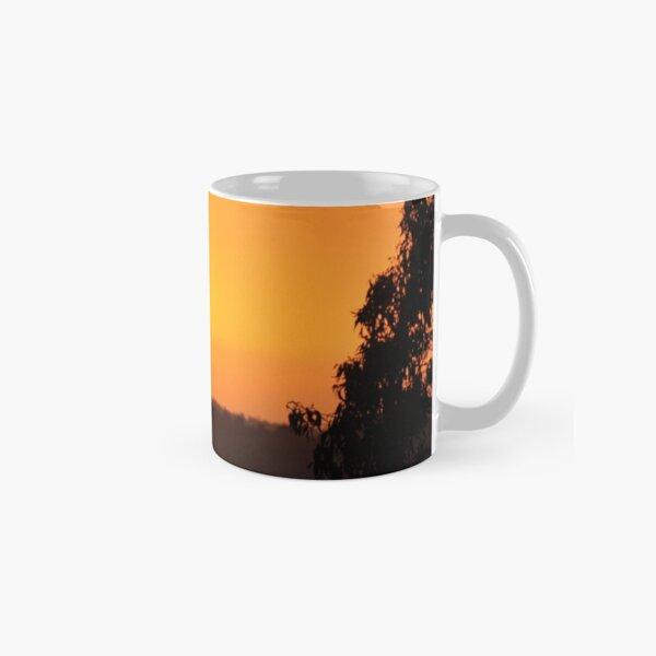Sunset from the Mount Burnett Observatory Classic Mug