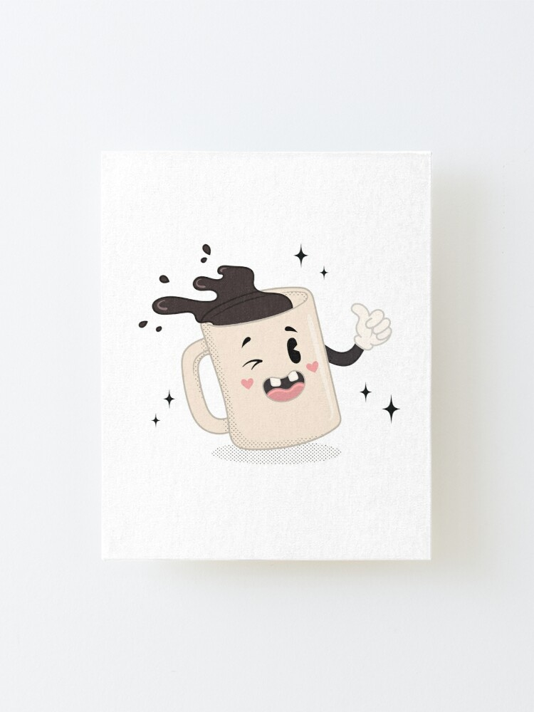 Alternate view of I LOVE COFFEE Mounted Print