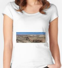 Grand Staircase Escalante  Women's Fitted Scoop T-Shirt