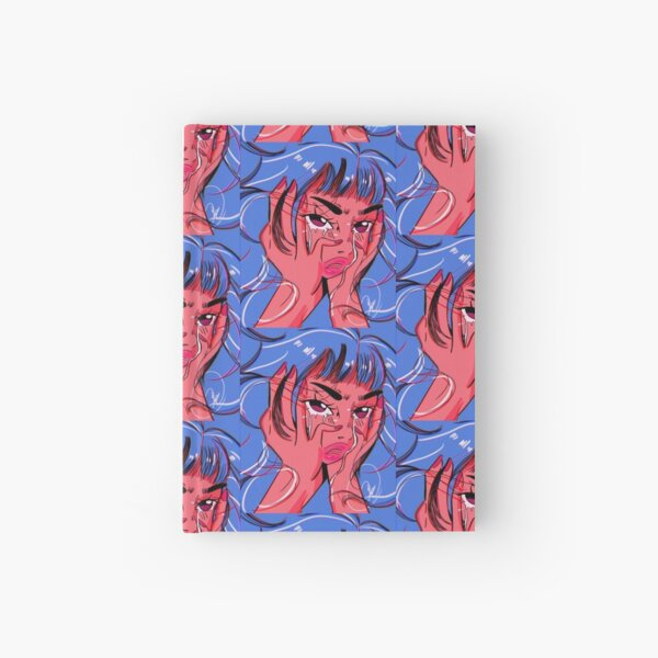 Pretty Tears ( Blue) Hardcover Journal