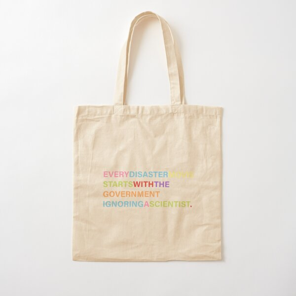 The Wisdom In Fiction Cotton Tote Bag