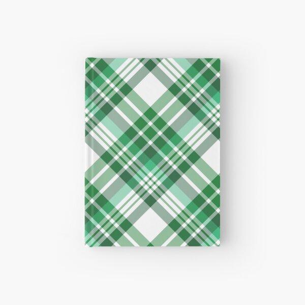 Green Plaid Hardcover Journal