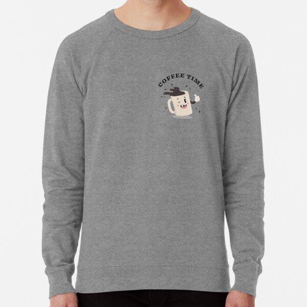 COFFEE TIME - pocket print Lightweight Sweatshirt