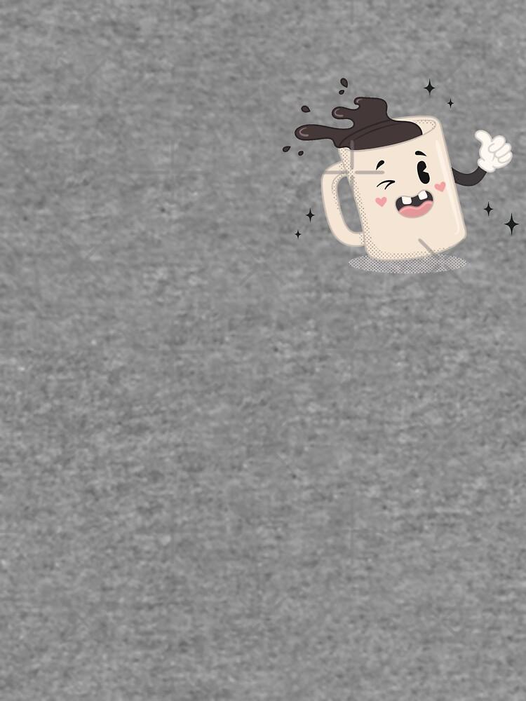 I LOVE COFFEE - pocket print by xxzbat