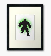 Hulk SMASH Banksy! Framed Print