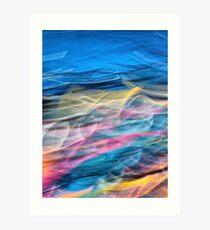 the colors of Salvatore Art Print