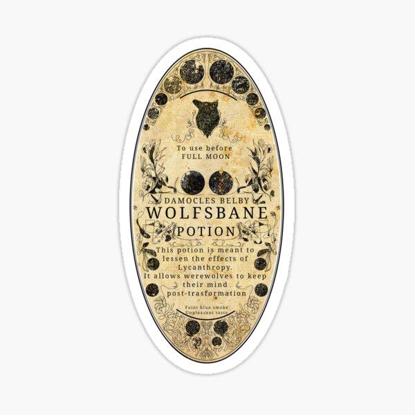 Werewolf Potion art Sticker