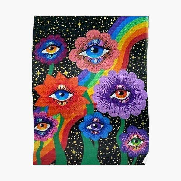 indie aesthetic eyes Poster