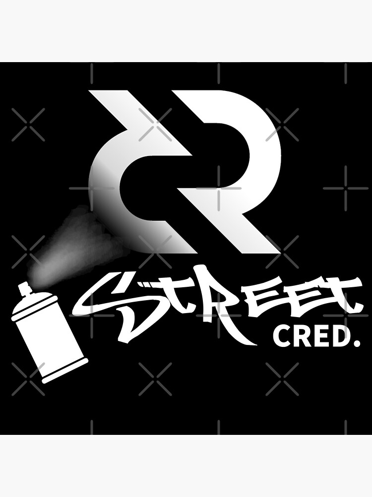 (sticker) Street Cred ™ v3 'Design timestamped by https://timestamp.decred.org/' by OfficialCryptos