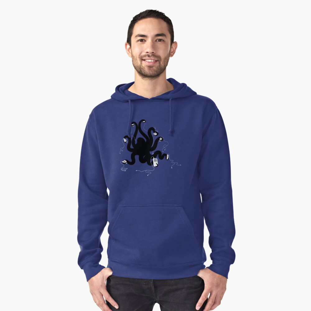 Octipod Pullover Hoodie Front