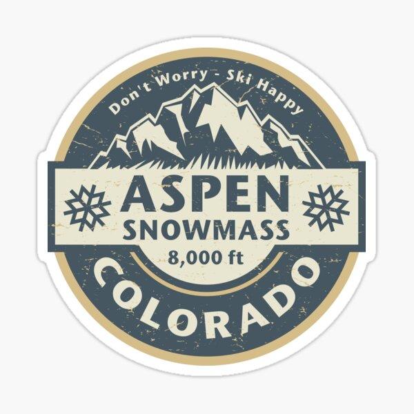 Aspen / Snowmass, Colorado Sticker
