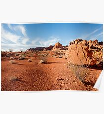 Valley of Fire State Park, Nevada Poster
