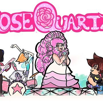 Rose Quartz and the Crystal Gems by GoldDustGypsy