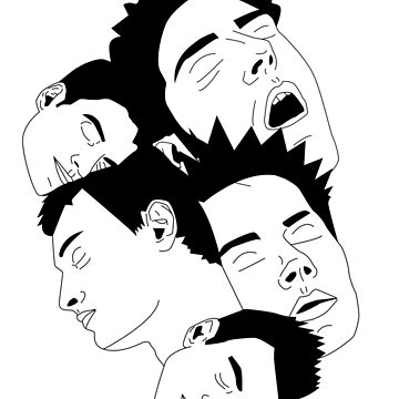 'Sleepy Heads' design by LUCILLE by LUCILLEART