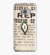 1916 Easter lily Samsung Galaxy Case/Skin