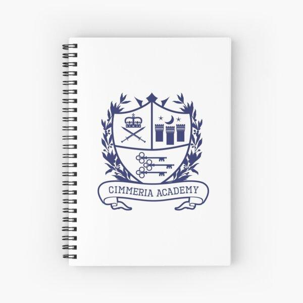 Cimmeria Academy Crest Spiral Notebook