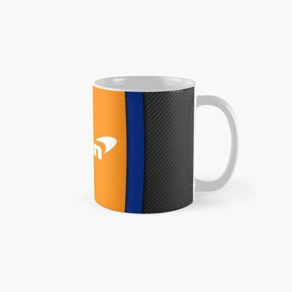 Mclaren f1 logo and leather design Classic Mug